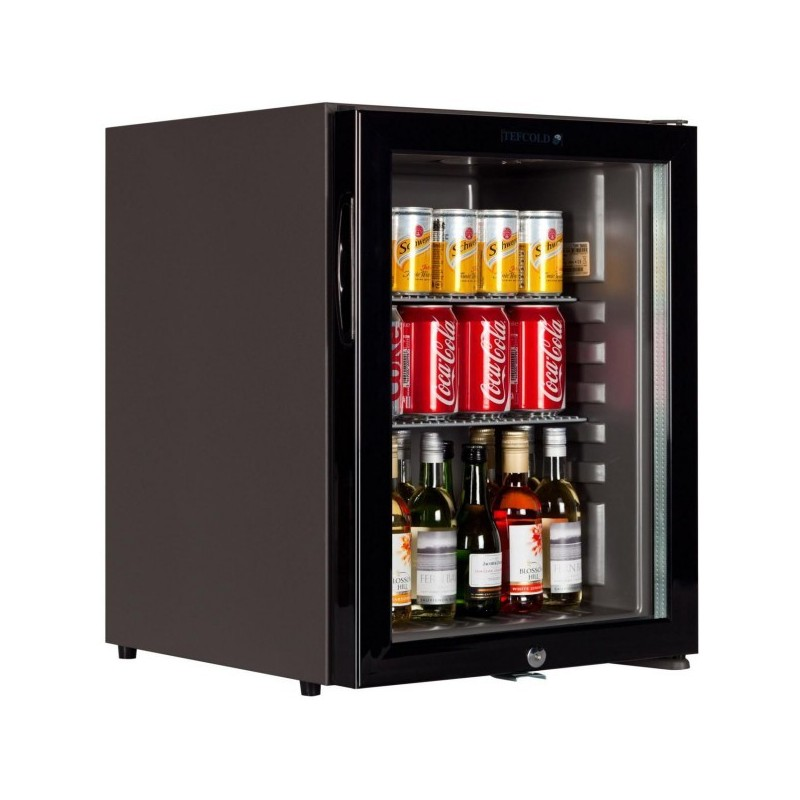 mini frigo bar 30l vitr. Black Bedroom Furniture Sets. Home Design Ideas