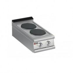 Plaque de cuisson 2 plaques électriques Gamme 700 Baron 70PCE400