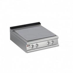 Plaque de cuisson plaque monobloc 4 zones gamme 700 Baron 70TPE800