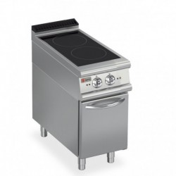 Plaque de cuisson induction 2 zones sur placard neutre Gamme 700 Baron 70PCVIND400