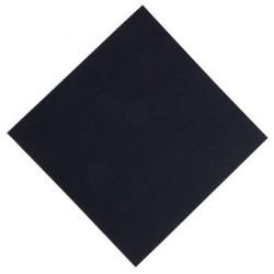 Serviette noire Dunisoft Duni 400mm GJ120