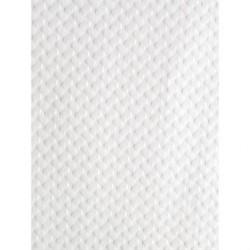 Surnappe jetable en papier 700 x 700mm blanche DP200