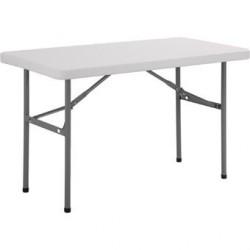 Table rectangulaire pliante Bolero 1220mm U543