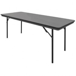 Table rectangulaire pliante ABS Bolero 1830mm GC596