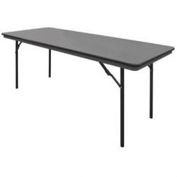 Table rectangulaire pliante ABS Bolero 1830mm GC596