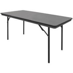 Table rectangulaire pliante ABS Bolero 1520mm GC595