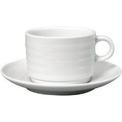 Tasse déjeuner avec soucoupe Intenzzo White 320ml GR033