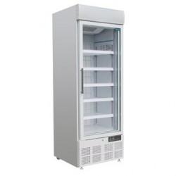 Vitrine réfrigérée négative une porte avec bandeau lumineux Polar 412L GH506