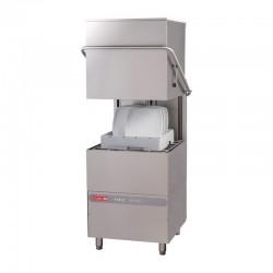 Lave-vaisselle à capot Maestro Gastro M 50x50 400V avec pompe de rinçage péristaltique et doseur détergent
