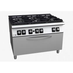 Cuisinière 6 feux gaz avec four FAGOR C-G961 OP