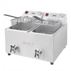 Friteuse double Buffalo - 2 x 8L 2,9kW avec minuterie - FC375