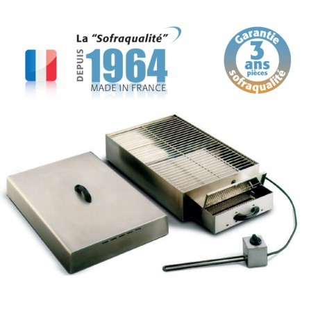 Fumoir électrique - 1 étage - L 1000 mm - SOFRACA - 04FM3