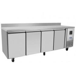 Table négative 600 mm avec dosseret-EPF3481GR-SB- ATOSA