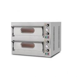 Four à pizza avec 2 chambres de cuisson Resto Italia GL939