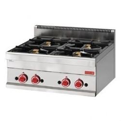 Fourneau gaz à poser 4 feux Gastro M 650 65 70PCG GN055