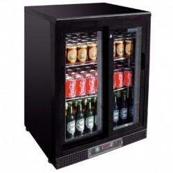 Arrière bar finition noire 140 bouteilles POLAR CD089