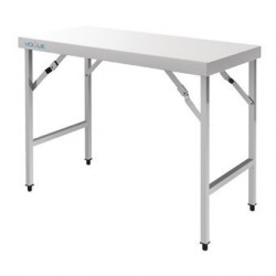 Grande table pliante inox Vogue CB906
