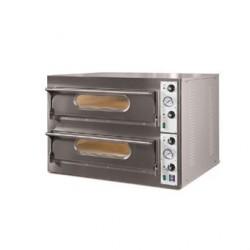 Grand four à pizza avec 2 chambres de cuisson Resto Italia GL941